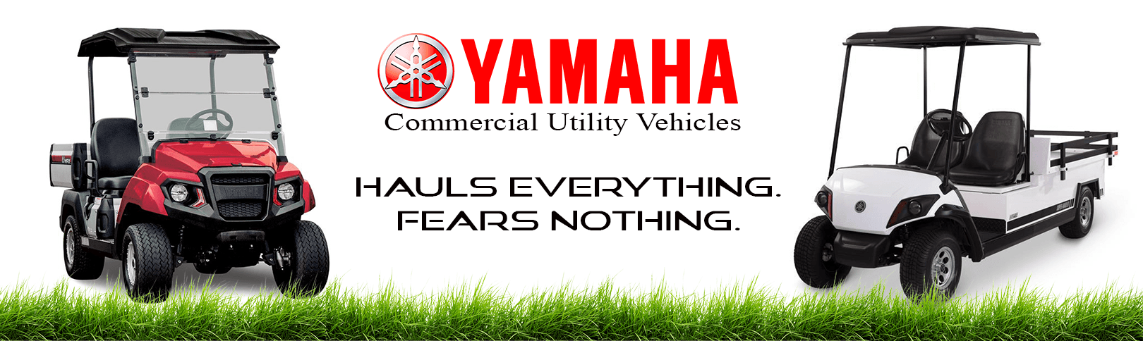 Yamaha Commercial Vehicle banner 1